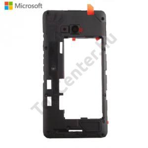 Microsoft Lumia 640 Középső keret (1SIM kártyás, LTE) FEKETE