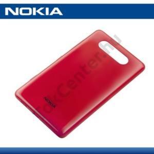 Nokia Lumia 820 Műanyag telefonvédő (akkufedél) PIROS