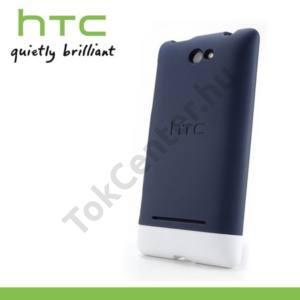 HTC 8S Windows Phone (A620e) Műanyag telefonvédő KÉK/FEHÉR