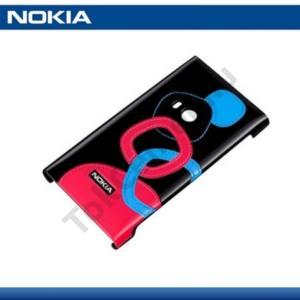 Nokia N9-00 Műanyag telefonvédő FEKETE
