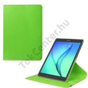Samsung Galaxy Tab S2 9.7 (SM-T810) WIFI Tok álló, bőr (FLIP, asztali tartó funkció, 360°-ban forgatható) ZÖLD