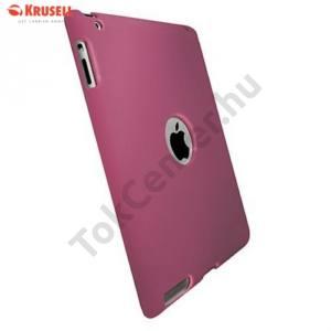 Apple IPAD (3rd Generation) KRUSELL ColorCover műanyag telefonvédő RÓZSASZÍN