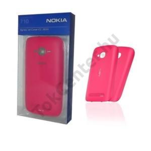 Nokia Lumia 710 Műanyag telefonvédő (akkufedél) RÓZSASZÍN