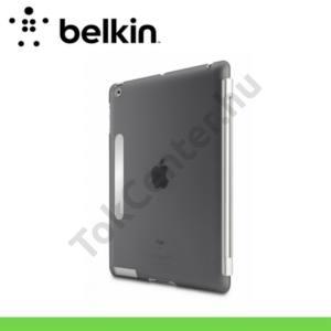 Apple IPAD (3rd Generation) Műanyag telefonvédő (TRIFOLD, Snap Shield Secure) FEKETE