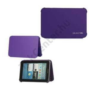 Samsung Galaxy Tab2 7.0 (P3100) Műanyag telefonvédő (bőr flip) LILA