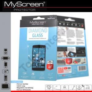 Samsung Galaxy A5 (SM-A500F) Képernyővédő fólia törlőkendővel (1 db-os, edzett üveg, extra karcálló, ütésálló, 9H) DIAMOND GLASS