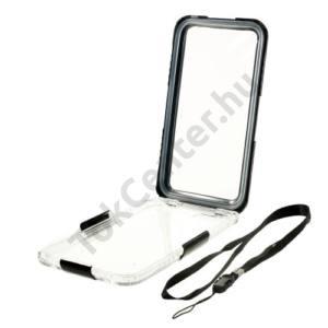 Apple iPhone 6 Plus 5.5`` Vízhatlan/vízálló tok, AQUA (6 méterig, csuklópánt) FEKETE