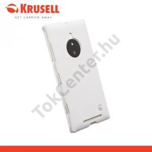 Nokia Lumia 830 KRUSELL TextureCover MALMÖ műanyag telefonvédő FEHÉR