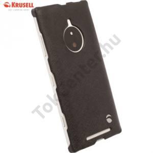 Nokia Lumia 830 KRUSELL TextureCover MALMÖ műanyag telefonvédő FEKETE