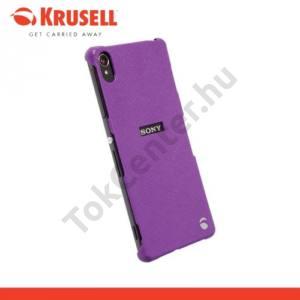 Sony Xperia Z3 (D6653) KRUSELL TextureCover MALMÖ műanyag telefonvédő LILA