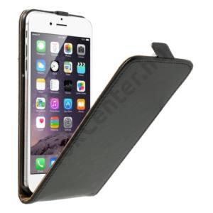Apple iPhone 6 Plus 5.5`` Tok álló, bőr (FLIP, mágneses) FEKETE