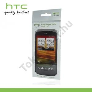 HTC One S (Z520e) Képernyővédő fólia (2 db-os) CLEAR