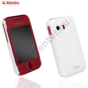 Samsung Galaxy Ace (GT-S5830) KRUSELL ColorCover műanyag telefonvédő FEHÉR