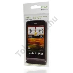 HTC One V (T320e) Képernyővédő fólia (2 db-os) CLEAR