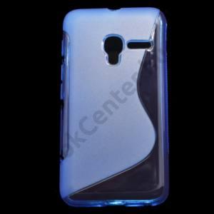 Alcatel Pixi 3 (4) ; (OT-4013) Telefonvédő gumi / szilikon (S-line) KÉK