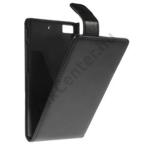 BlackBerry Z3 Tok álló, bőr (FLIP, mágneses) FEKETE