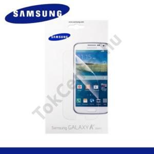 Samsung Galaxy K-Zoom (SM-C115) Képernyővédő fólia törlőkendővel (2 db-os) TRANSPARENT