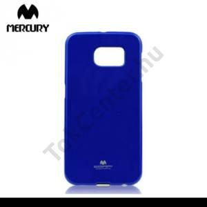 Samsung Galaxy S6 (SM-G920) MERCURY Goospery telefonvédő gumi / szilikon (csillámporos) SÖTÉTKÉK