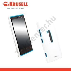 Nokia Lumia 920 KRUSELL ColorCover műanyag telefonvédő METÁLFEHÉR