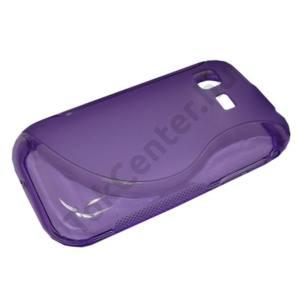 Samsung Galaxy Pocket (GT-S5300) Telefonvédő gumi / szilikon (S-line) LILA