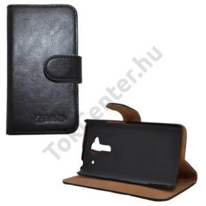 Acer Liquid Z5 Tok álló, bőr (FLIP, mágneses, oldalra nyíló, bankkártya  tartó, asztali tartó funkció) FEKETE