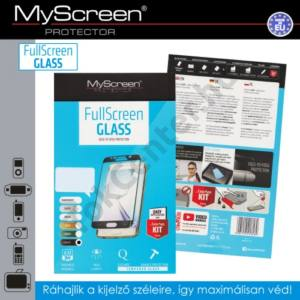 LG G5 (H850) Képernyővédő fólia (1 db-os, 3D full cover, íves, ultravékony előlap, edzett üveg, karcálló, 0.33 mm, 9H) FEKETE