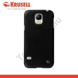 Samsung Galaxy S V. (SM-G900) KRUSELL TextureCover MALMÖ műanyag telefonvédő FEKETE