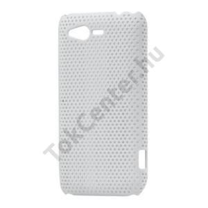 HTC Rhyme (Bliss Műanyag telefonvédő lyukacsos FEHÉR