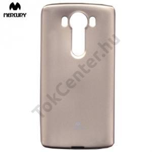 LG V10 (H960A) MERCURY Goospery telefonvédő gumi / szilikon (csillámporos) ARANY