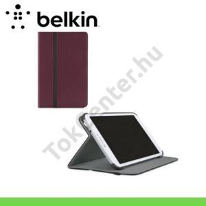 Samsung Galaxy Tab4 7.0 3G (SM-T231) BELKIN SMOOTH FORMFIT tok álló (FLIP, asztali tartó funkció) BURGUNDY