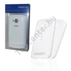 Nokia Lumia 710 Műanyag telefonvédő (akkufedél) FEHÉR