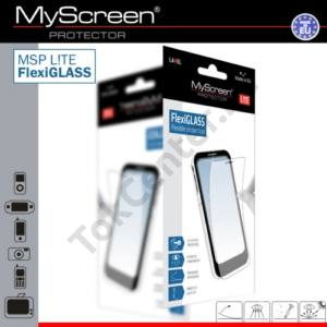 Alcatel Pixi 4 (6) 3G (OT-8050D) MSP L!TE képernyővédő fólia törlőkendővel (1 db-os, üveg, karcálló, ütésálló, 6H, 0.19mm vékony) FLEXI GLASS CLEAR