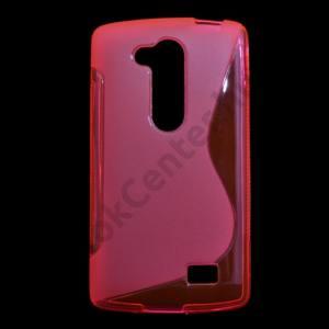 LG L70+ L Fino (D290n) Telefonvédő gumi / szilikon (S-line) RÓZSASZÍN