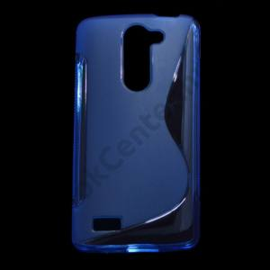 LG L80+ L Bello (D331)  Telefonvédő gumi / szilikon (S-line) KÉK