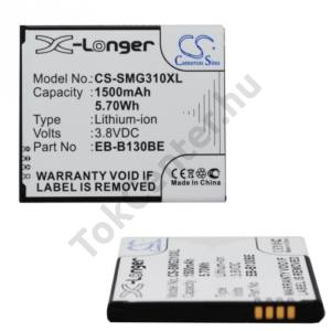 Samsung Galaxy Ace NXT (SM-G313H) Akku 1500 mAh LI-ION (EB-B130BE kompatibilis)