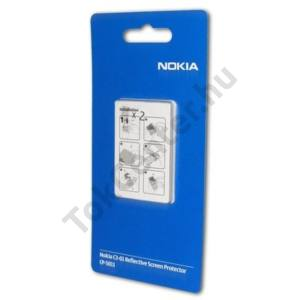 Nokia C3-01 Touch and Type Képernyővédő fólia (2 db-os) TÜKRÖS/Mirror Screen