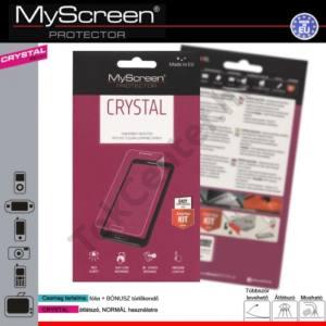 HTC One E9+ Képernyővédő fólia törlőkendővel (1 db-os) CRYSTAL áttetsző