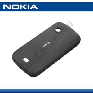 Nokia C5-03 Telefonvédő gumi / szilikon FEKETE