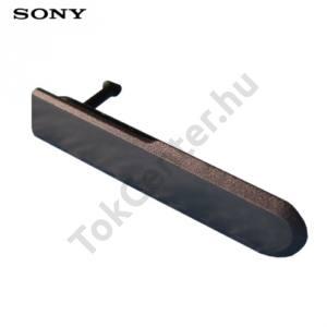 Sony Xperia Z1 Compact (D5503) Porvédő rendszer csatlakozóhoz FEKETE