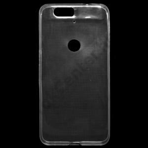 Huawei Nexus 6P Telefonvédő gumi / szilikon (ultravékony) ÁTLÁTSZÓ