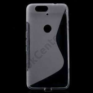 Huawei Nexus 6P Telefonvédő gumi / szilikon (S-line) ÁTLÁTSZÓ