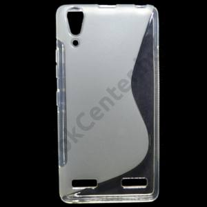 Lenovo A6000 Telefonvédő gumi / szilikon (S-line) ÁTLÁTSZÓ