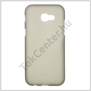 Asus Zenfone 3 Deluxe (ZS570KL) Telefonvédő gumi / szilikon (fényes keret) FÜSTSZÍNŰ