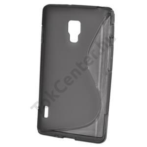 LG Optimus L7 II. (P710) Telefonvédő gumi / szilikon (S-line) FÜSTSZÍNŰ