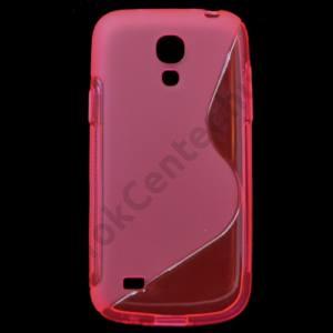 Samsung Galaxy S IV. mini (GT-I9190) Telefonvédő gumi / szilikon (S-line) RÓZSASZÍN