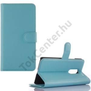 Lenovo Vibe X3 Tok álló, bőr (FLIP, oldalra nyíló, asztali tartó funkció) VILÁGOSKÉK