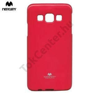 Samsung Galaxy A3 (SM-A300F) MERCURY Goospery telefonvédő gumi / szilikon (csillámporos) MAGENTA