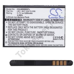 BlackBerry 9790 Onyx III. Akku 1250 mAh LI-ION (J-M1/ACC-40871-201 kompatibilis)