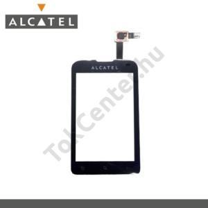 Alcatel OT-918D Plexi ablak, érintőpanellel (OT-918 MIX típushoz!)