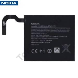 Nokia Lumia 925 Akku 2000 mAh LI-ION (belső akku, beépítése szakértelmet igényel!)